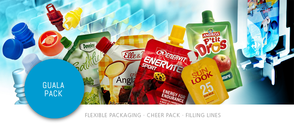 Guala Pack Flexible Packaging Cheer Pack  Filling Lines